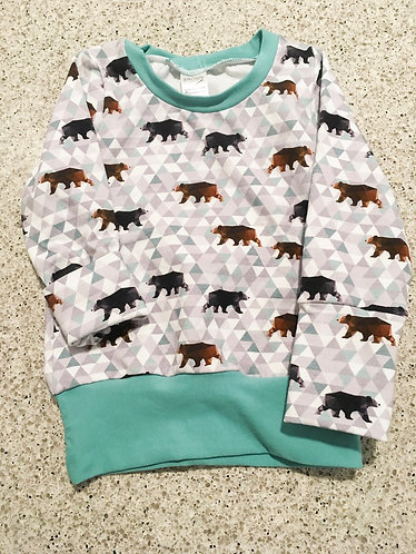 Grow With Me Shirts-Bears with Teal