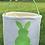 Thumbnail: Easter Basket Green Bunny