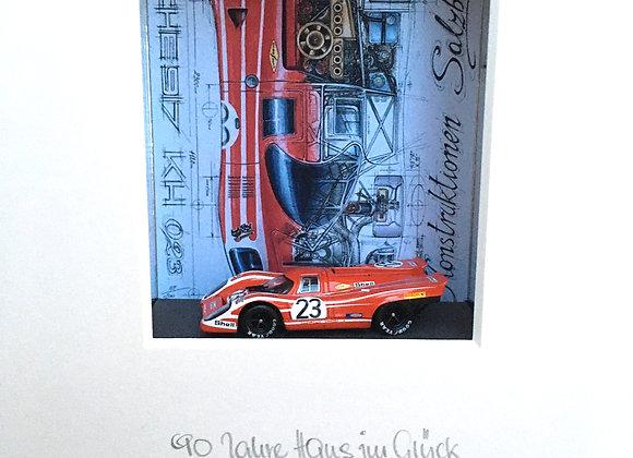 90 Jahre Hans Herrmann 1. Sieg 1970 Le Mans 24h