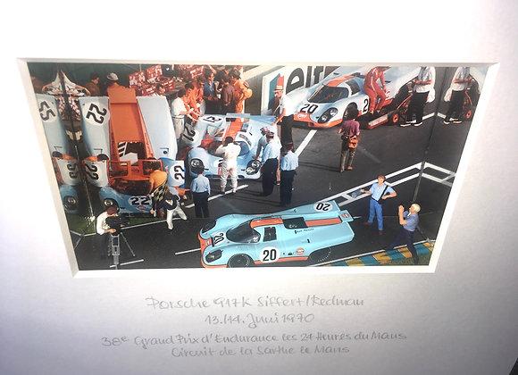 GULF die Legende lebt - Porsche 917 + Ford GT40