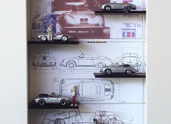"""50 Jahre """"Luftgekühlte"""" Porsche 1948 -1998"""