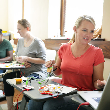 The MEd program at Wesleyan - small classes, close relationships, support from professors
