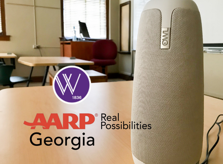 AARP Georgia donates $6,000 to Wesleyan Academy for Lifelong Learning