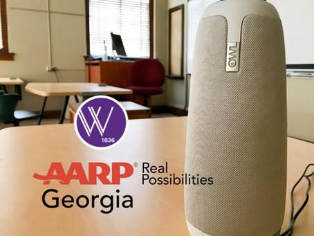 AARP Georgia donates $6,000 to Wesleyan Academy for Lifelong Learning