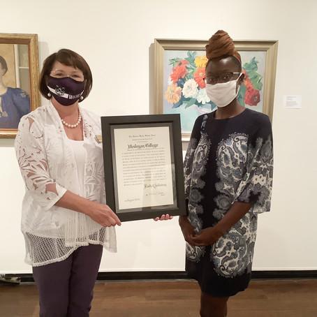 Rachel Solomon honored with 2020 Mary Mildred Sullivan Award