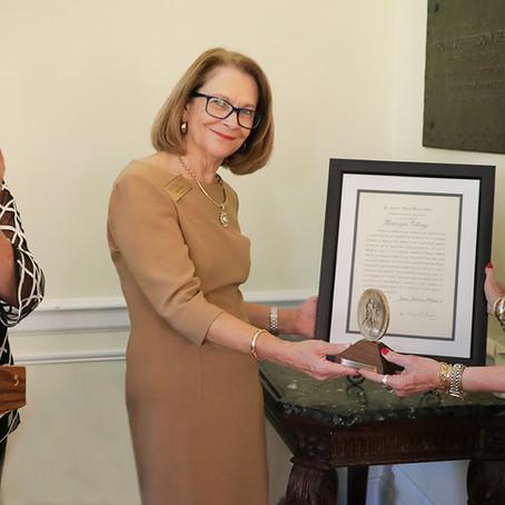 June Jordan O'Neal '90 honored with the Algernon Sydney Sullivan Award