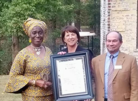 Wesleyan Trustee Chi Ezekwueche honored with the 2019 Algernon Sydney Sullivan Award