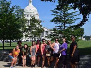 Wesleyan College master of education students travel to Washington, D.C.