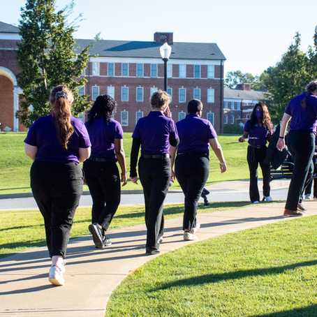 Student Admissions Ambassadors are an integral part of Wesleyan's Admissions team