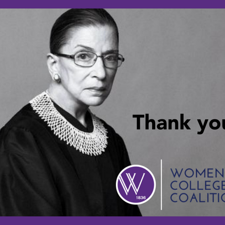Honoring the life and legacy of Supreme Court Justice Ruth Bader Ginsburg