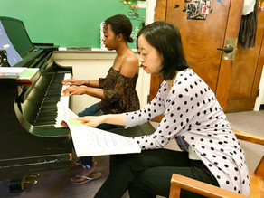 First-Year Student Erica Calhoun Wins Steinway Society Scholarship