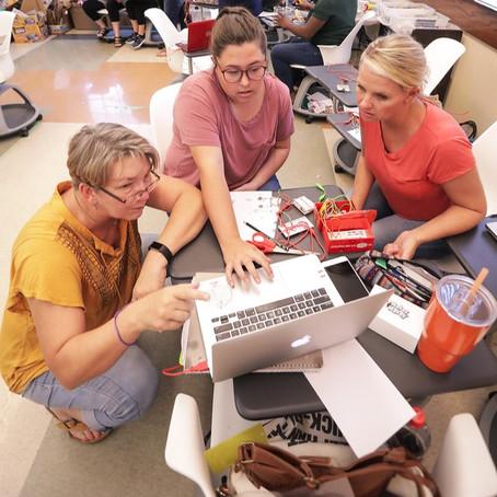 Associate Professor of Education Virginia Bowman Wilcox '90 takes STEM education to the next level
