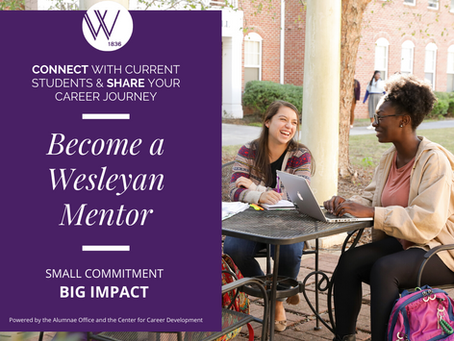 Connecting Wesleyan Students with Alumnae and with Careers