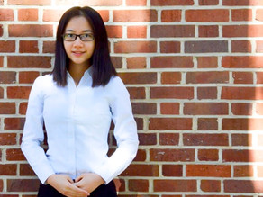 Wesleyan student honored with the Jack Mangham Experiential Learning Award