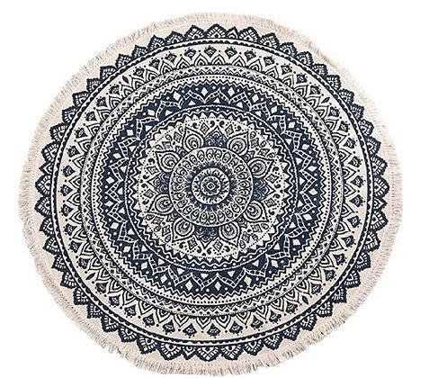 Alfombra Circular de algodón