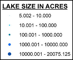 Lakes Greater Than 5 Acres_Graduated Col