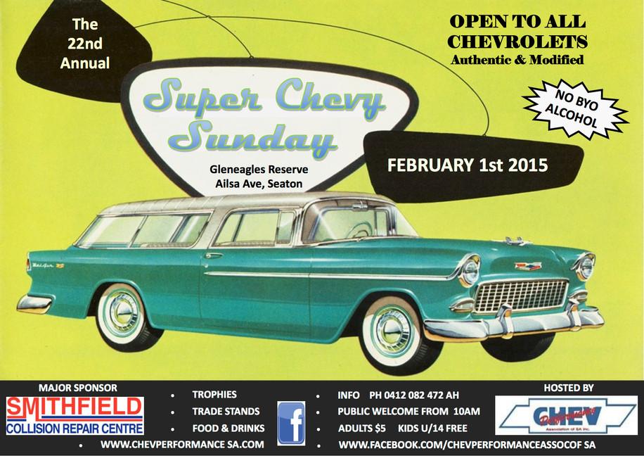 Super Chevy Sunday #22