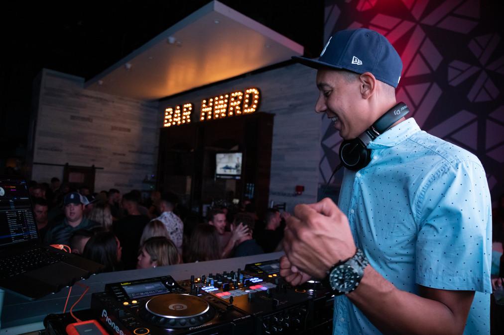 BAR HWD'S New Friday Night Resident
