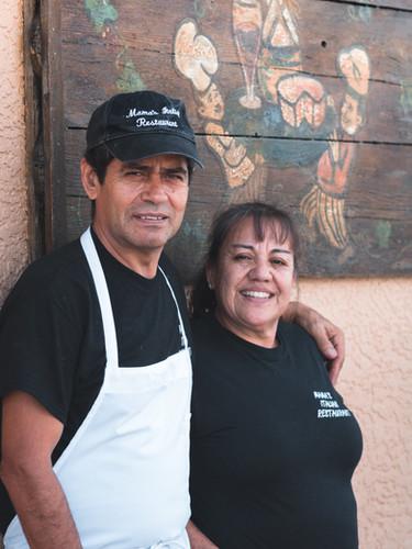 Roberto Guido and Ana Rosa Guido