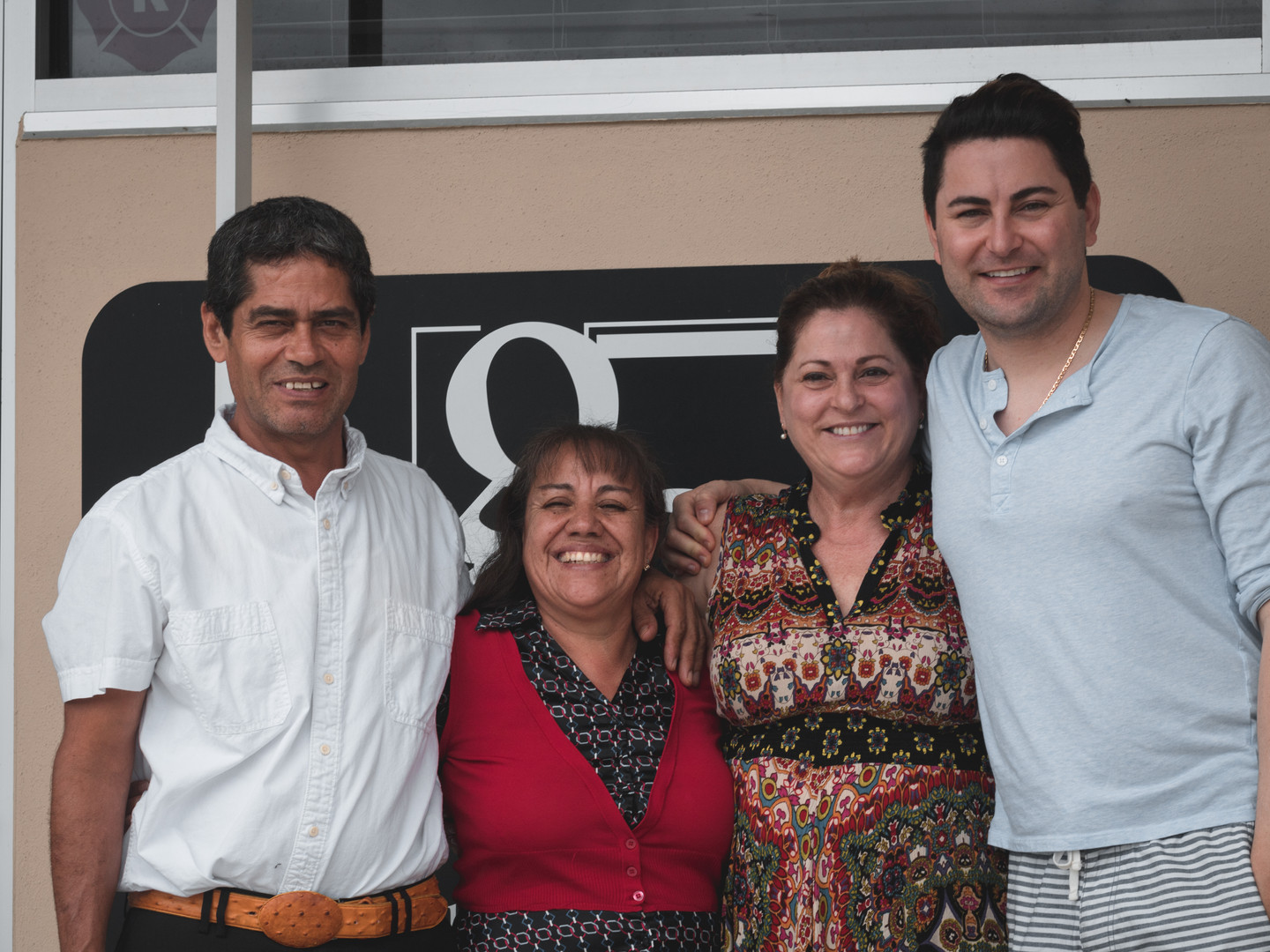 From Left to Right: Roberto Guido, Ana Rosa Guido, Paula Recca, Vincet Recca