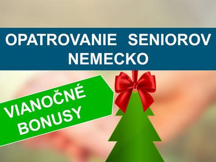 200 € Weihnachts Bonus - Vianočné bonusy.