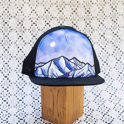 Black Mesh Mountain Hat