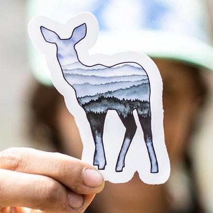 Rolling Hills Doe Sticker
