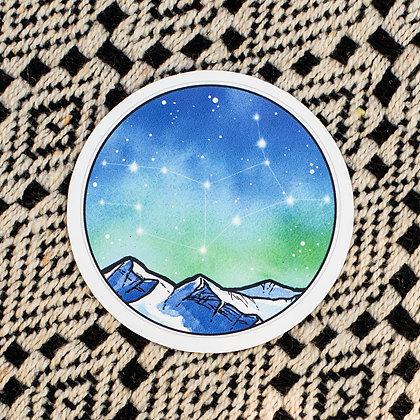 Virgo Sticker