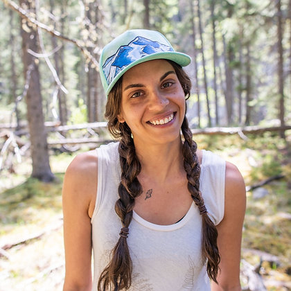 Seafoam Green Mountain Hat