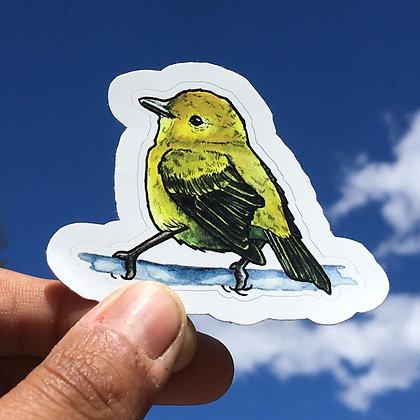 Yellow Warbler Sticker