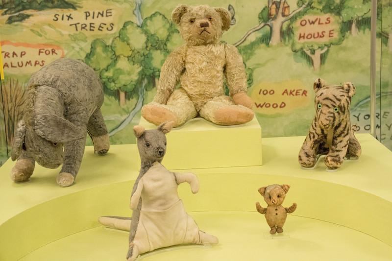 Original Pooh corner toys