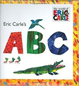 ABC Cover, Eric Carle