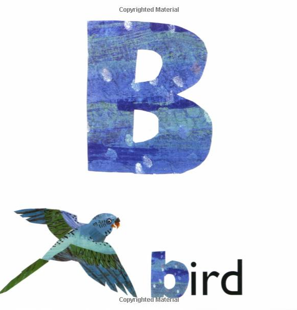 B is for Bluebird
