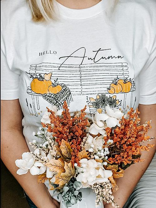 Hello Autumn Graphic Tee