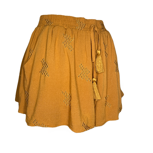 Honey Comb Shorts Front View