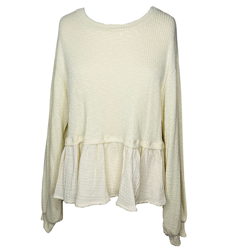 Taupe Top Front View