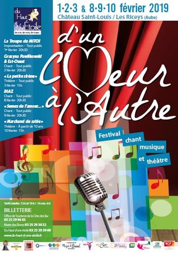 """Événement : « D'un chœur à l'autre » (chant et théâtre) par l'association """"Du Haut d'une Étoile"""