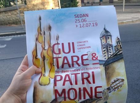 Festival de « Guitare & Patrimoine », 26ème rencontres en Ardennes. La troisième journée à Sedan