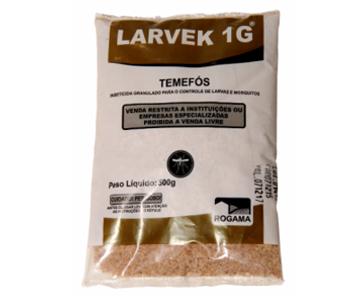 A Vetorial possui a solução certa para o controle de pragas com LARVEK é um larvicida em grânulo, residual e de baixa toxicidade em embalagem de 500g para polvilhamento. Utilizado contra larvas de mosquitos.