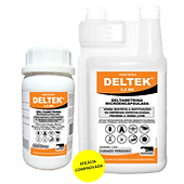 A Vetorial possui a solução certa para o controle de pragas com DELTEK2,5 ME é um inseticida Microencapsuladode baixo custo por dose e alto teor residual para utilizar em pulverização naforma de frasco auto-dosador de 1 litroutilizado contra baratas, moscas, mosquitos, pulgas, formigas, aranhas, escorpiões e carrapatos.