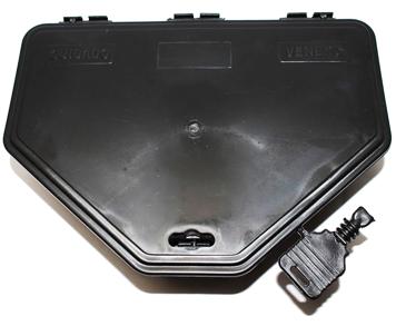 A Vetorial possui a solução certa para o controle de pragas com PORTA ISCA para roedores. Protege as iscas (bloco e pellet) e pode receber pó de contato. Proporciona melhor aparência no controle.