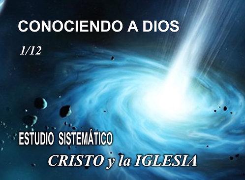 Conociendo a Dios 1-12