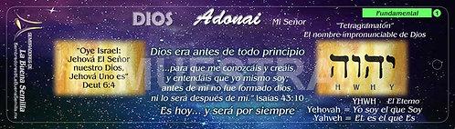 1 DIOS Adonai