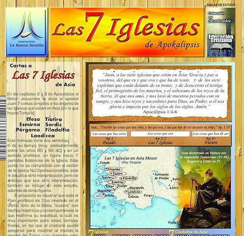 P Tabla de Estudio Las 7 Iglesias
