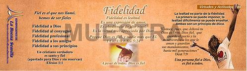 23 Fidelidad