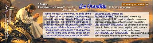28 La Oración