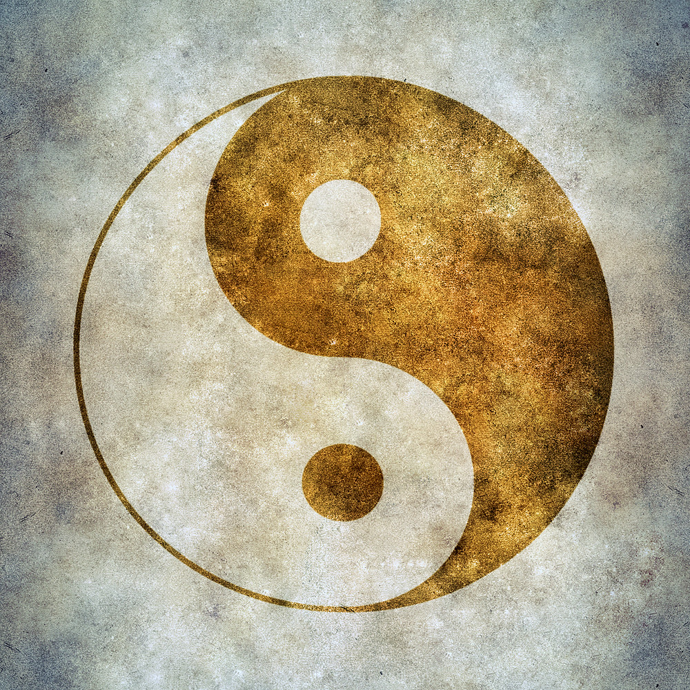 Yin Yang Achtsamkeit Buddhismus Glück Zufriedenheit #Bewusstsein