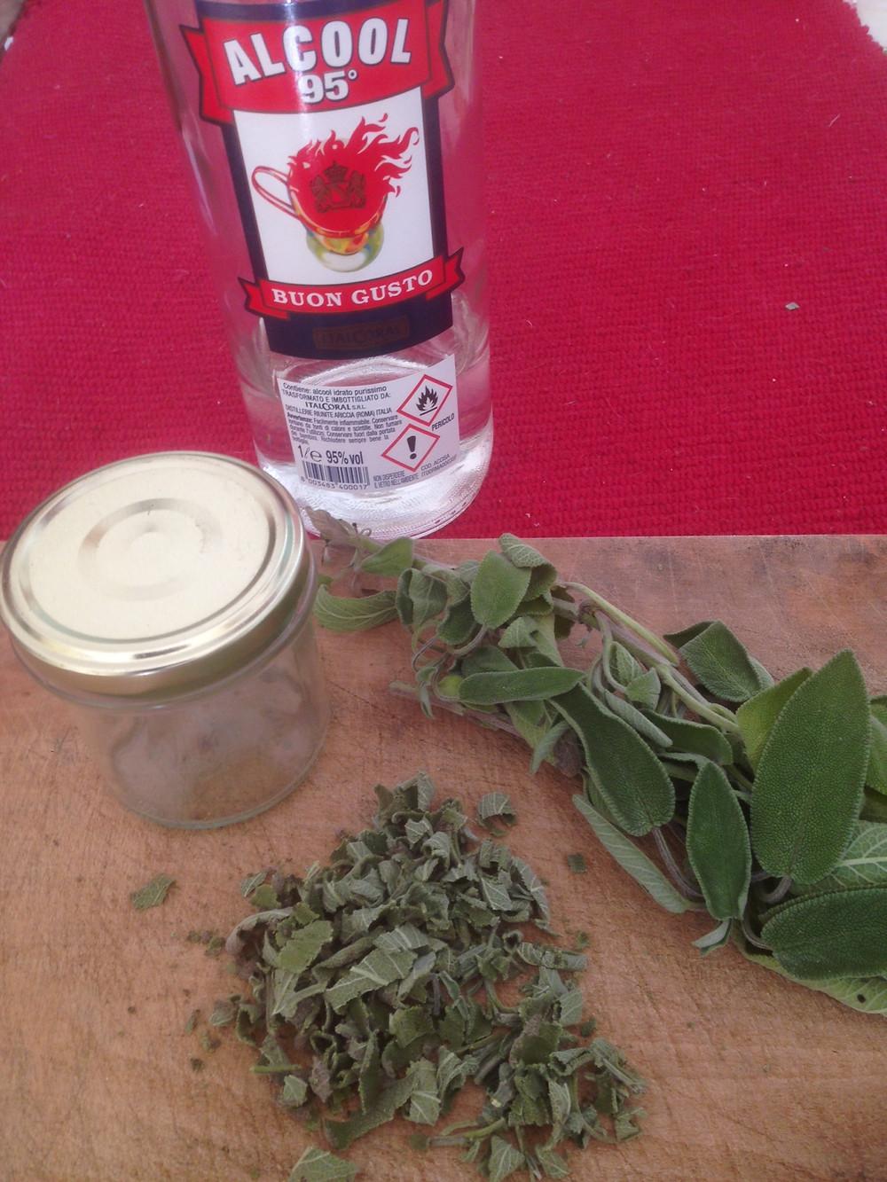 Tinktur #Salbeitinktur Alkohol 95% Salbei Kräuterauszug #DIY Deo