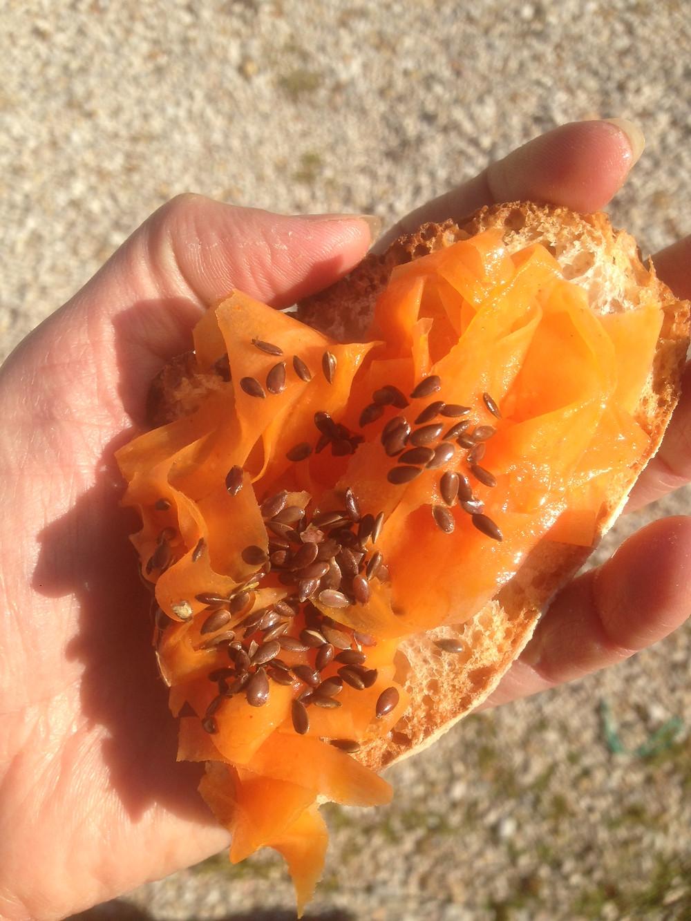 DIY Räucherlachs vegan Omega 3 Fettsäuren Karotten