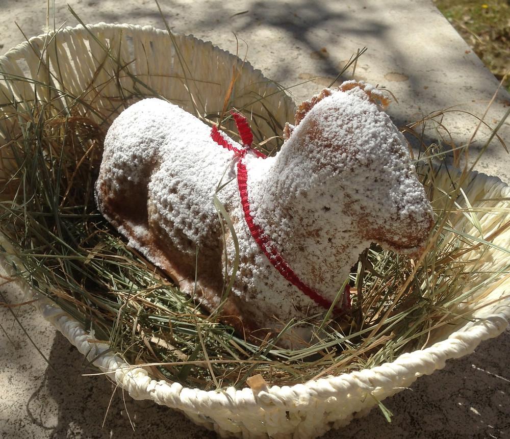 Osterlamm Opferlamm Ostertradition vegan pflanzlich Rezept Bedeutung Ostern Ostara